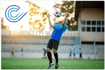 Deporte con lentillas en niños