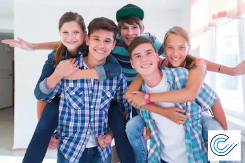 Adolescentes y lentillas