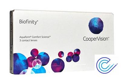 Lentes de contacto Biofinity esféricas