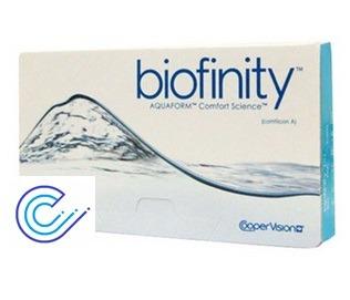 Lentillas Biofinity, comodidad y visión mensual