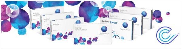 Familia Biofinity, comodidad y calidad al mejor precio
