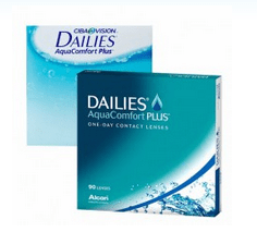Focus Dailies Aquacomfort Plus de Alcon