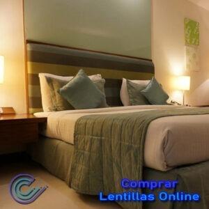 El dormitorio no requiere grandes iluminaciones, salvo si lees por la noche