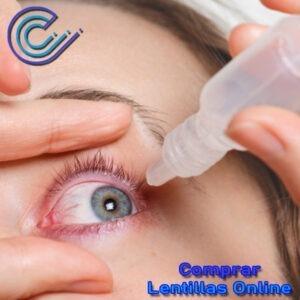 Usamos lágrimas humectantes cuando tenemos sequedad ocular