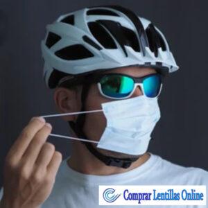 Uso de las gafas con mascarilla